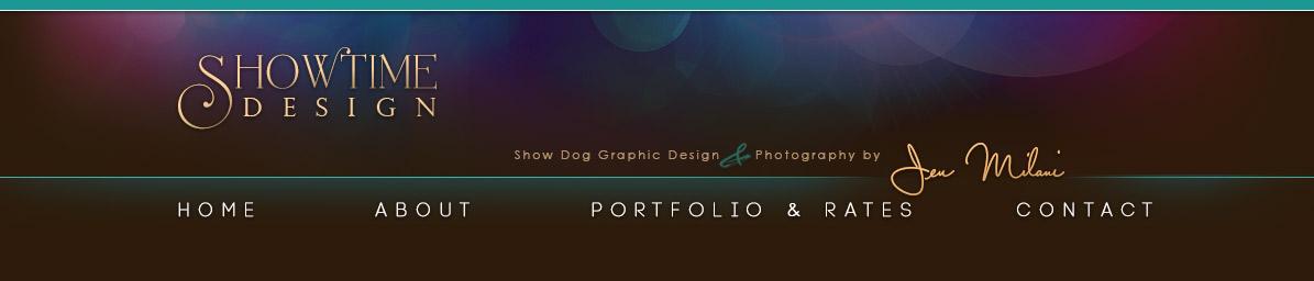 Showtime design show dog web and ad design - Showtime design ...